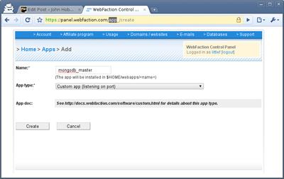 Creating The Custom Application