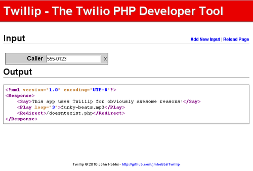 Twillip - No More Errors!
