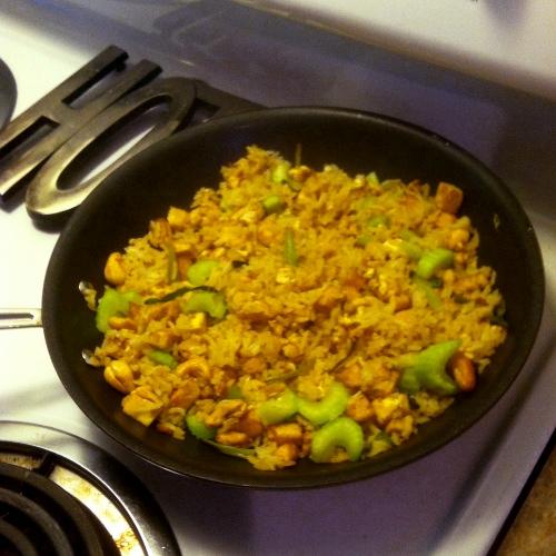 Curry Tofu Rice